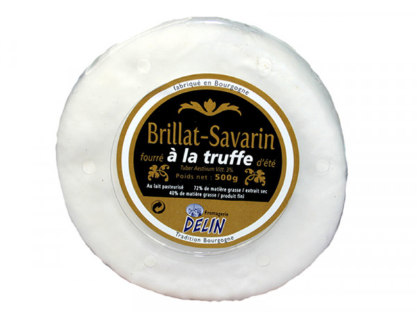 Brillat Savarin de Bourgogne affiné Truffe