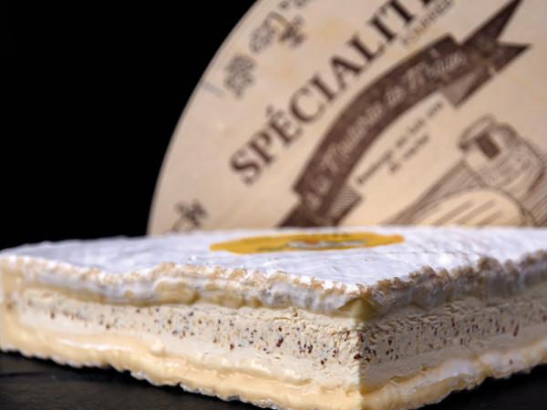 Brie de Meaux AOC à la Moutarde