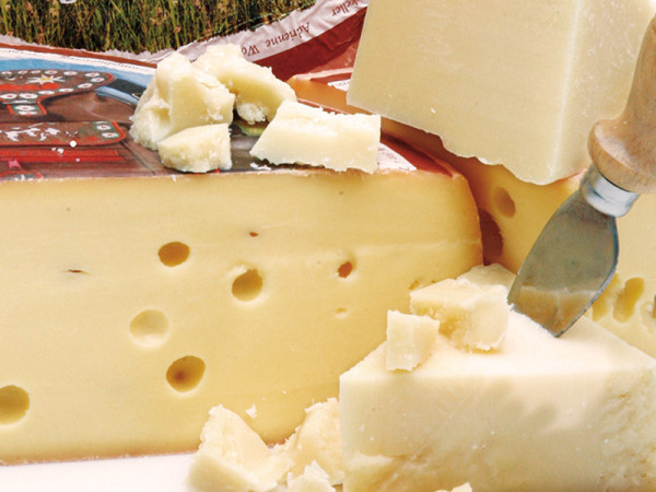Rucksack Käse